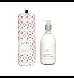 Lucia # 1: Lotion corps et mains au lait de chèvre et à l'huile de lin (300 ml)