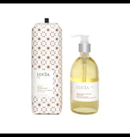 Lucia # 1: Savon pour les mains au lait de chèvre et à l'huile de lin (300 ml)