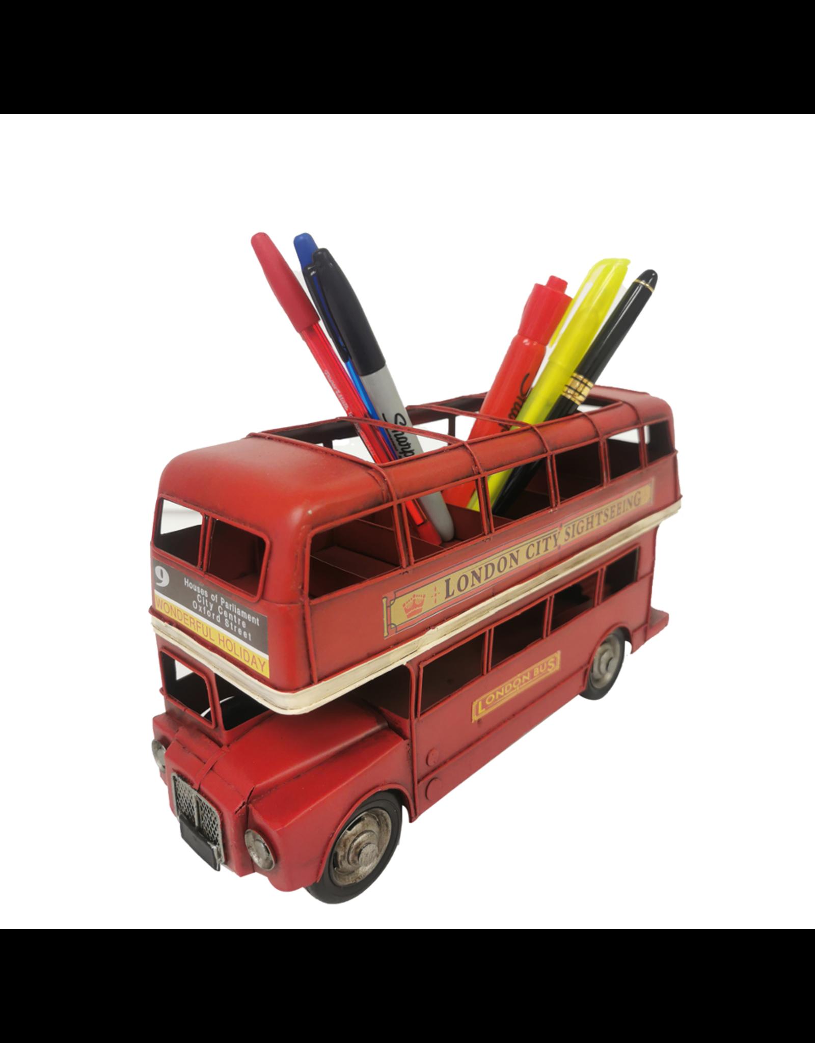 Autobus de Londres rouge