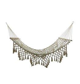 Hamac bordure crochet