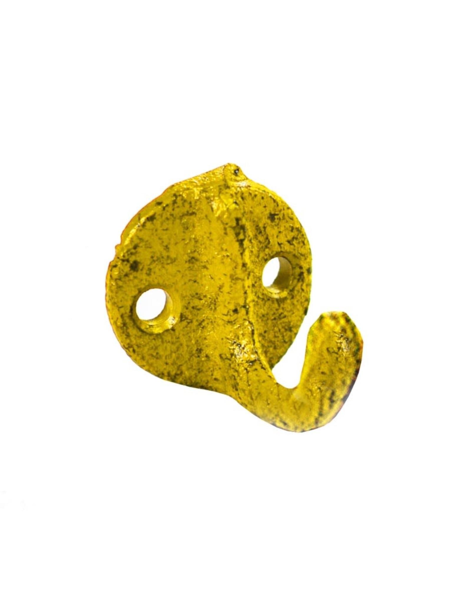Mini crochet jaune