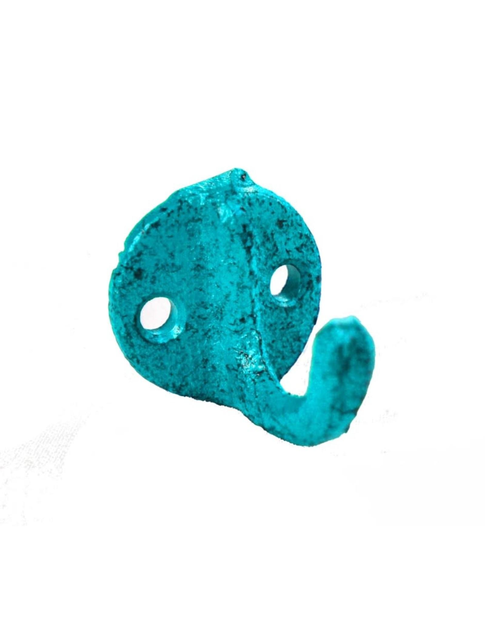 Mini crochet bleu