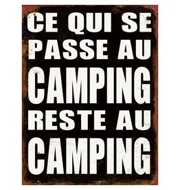 Affiche « Camping »