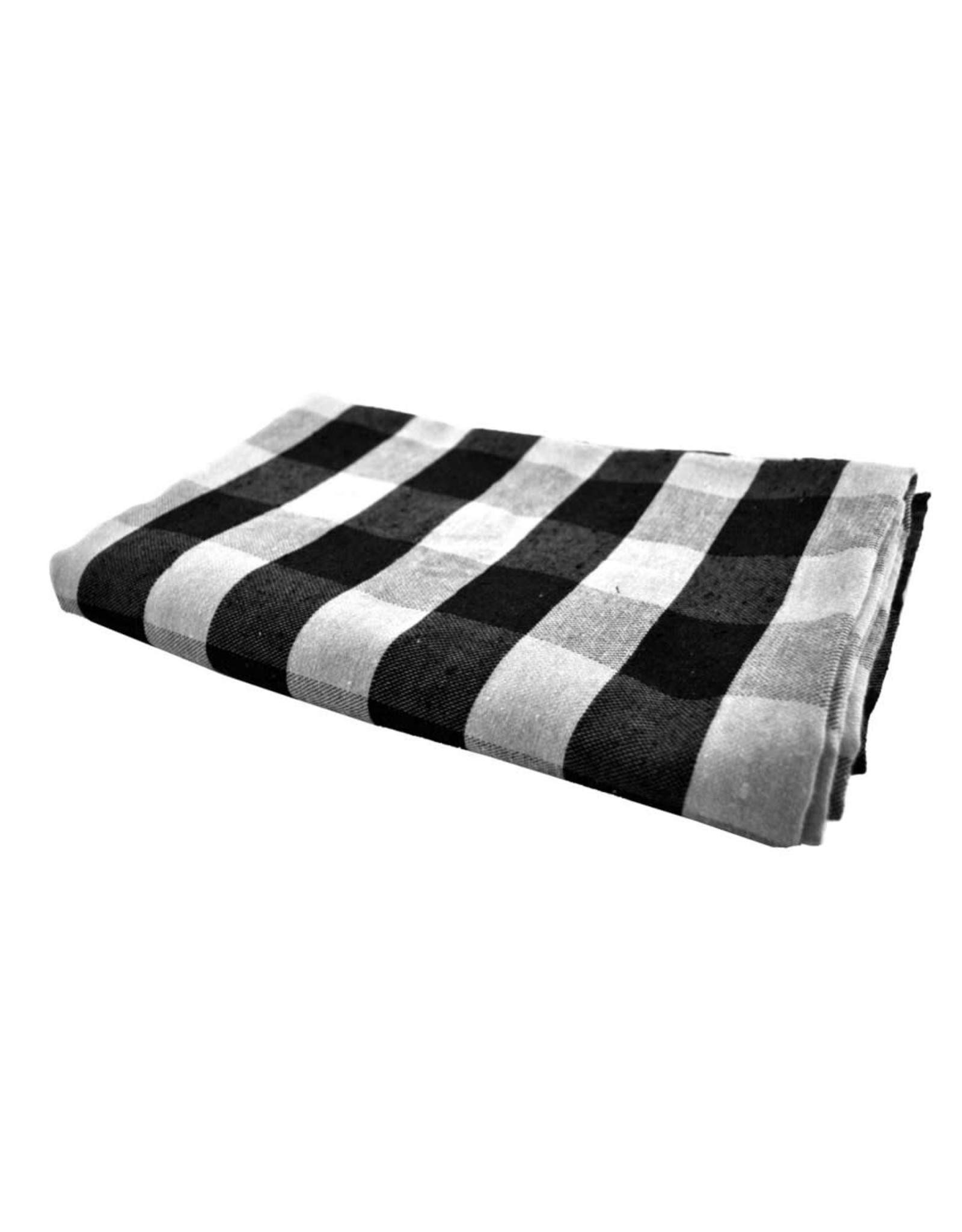 Nappe noire et blanche (60 x 108)