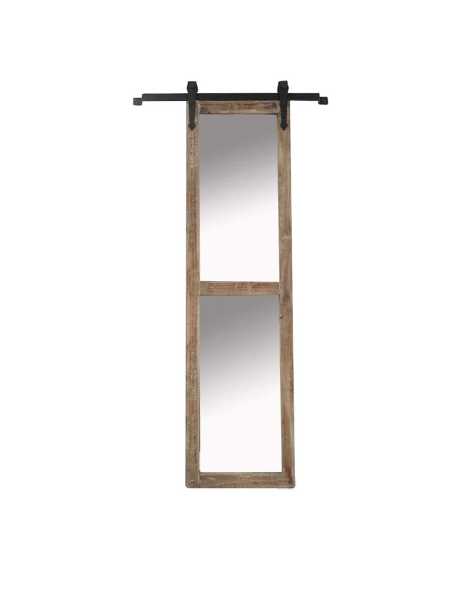 Miroir mural bois antique