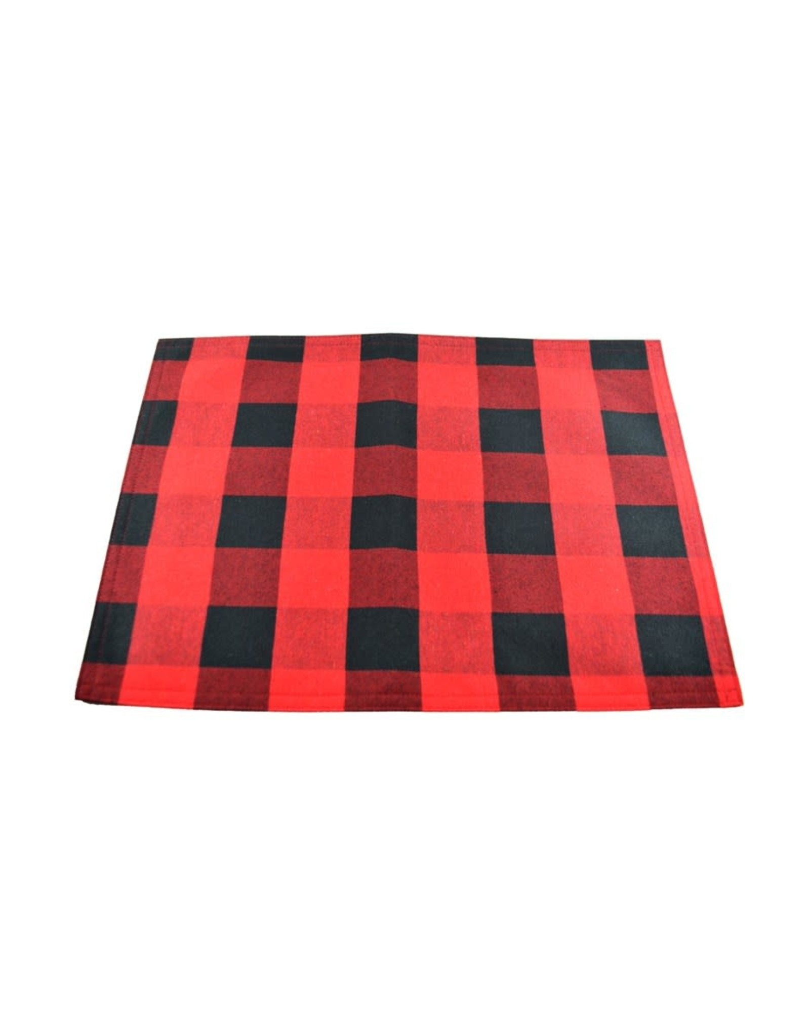 Napperons rouge et noir (Lumberjack)