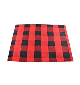 Napperon rouge et noir (Lumberjack)