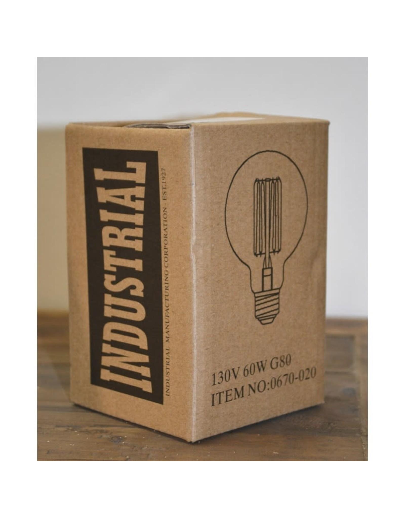 Ampoule vintage ronde 60 watts