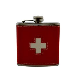 Flasque croix rouge   6 oz