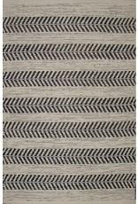 Tapis Dhurrie Arrow Black (2 x 3)