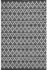 Tapis Dhurrie Jazzy Black (2 x 3)