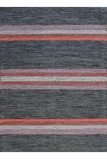 Tapis Dhurrie Rivera Black/Red (2 x 3)