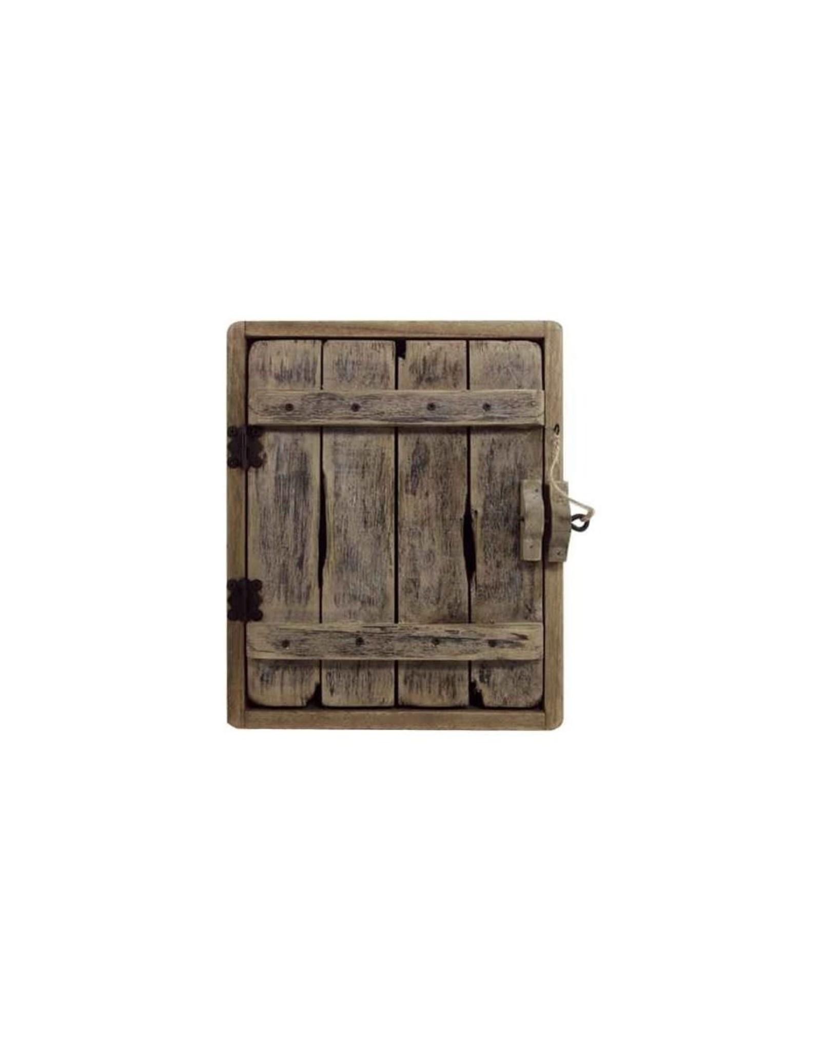 Boîte à clés rustique en bois