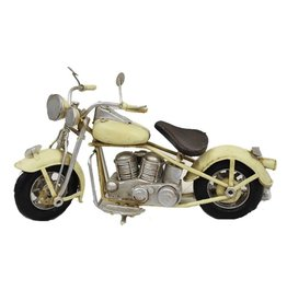 Moto vintage blanche