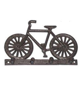 Crochet vélo noir