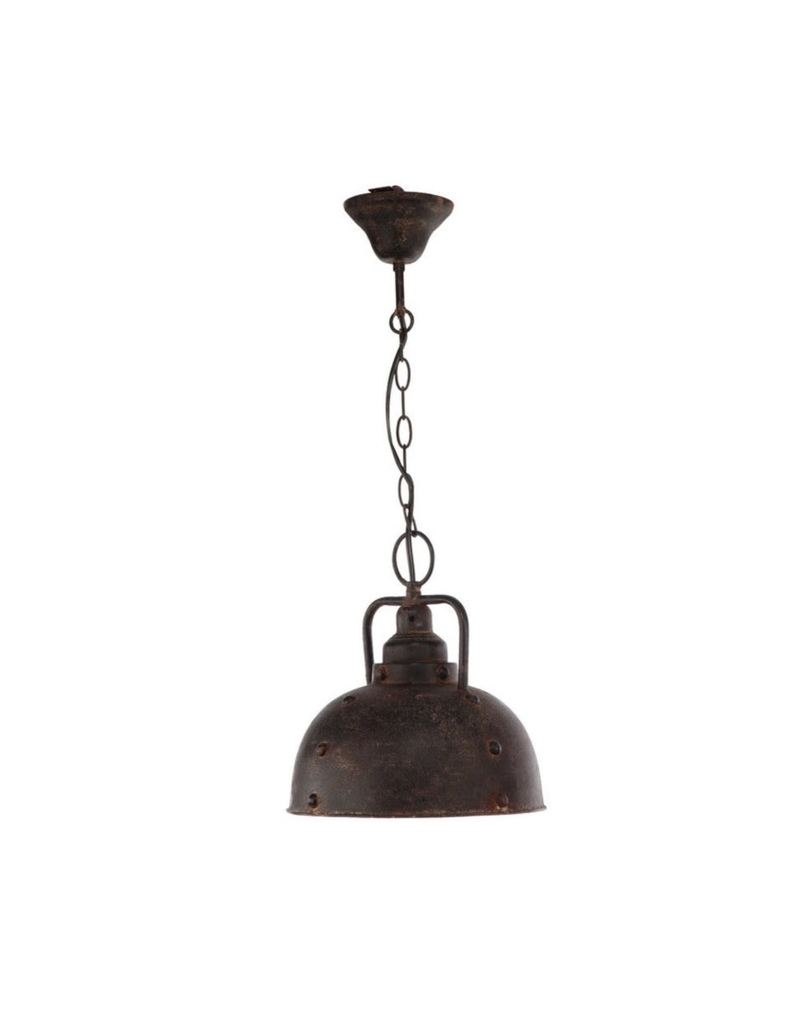 Luminaire suspendu en métal noir
