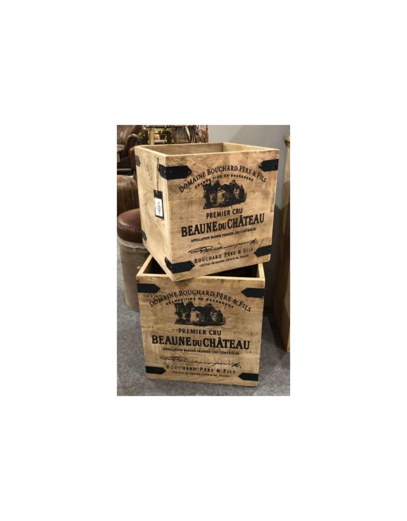 Boîte de rangement Cucina en bois de manguier- petite