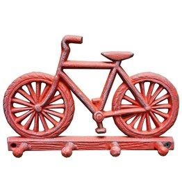 Crochet vélo rouge