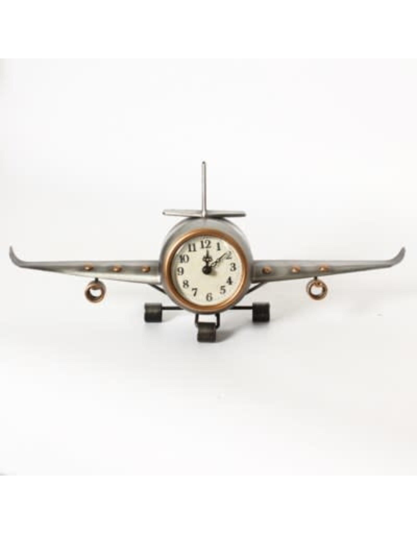 Horloge de table - Avion