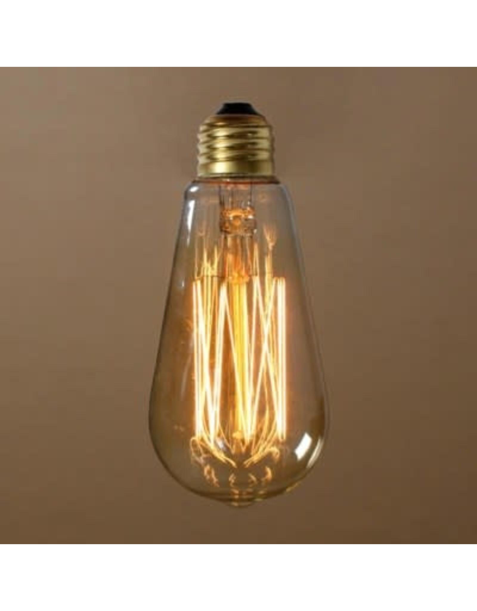 Ampoule vintage claire 40 watt A-21 E26
