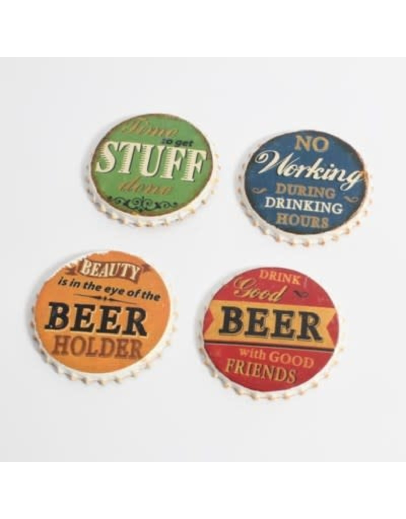 Sous-verres -  Bouchons de bière (4)