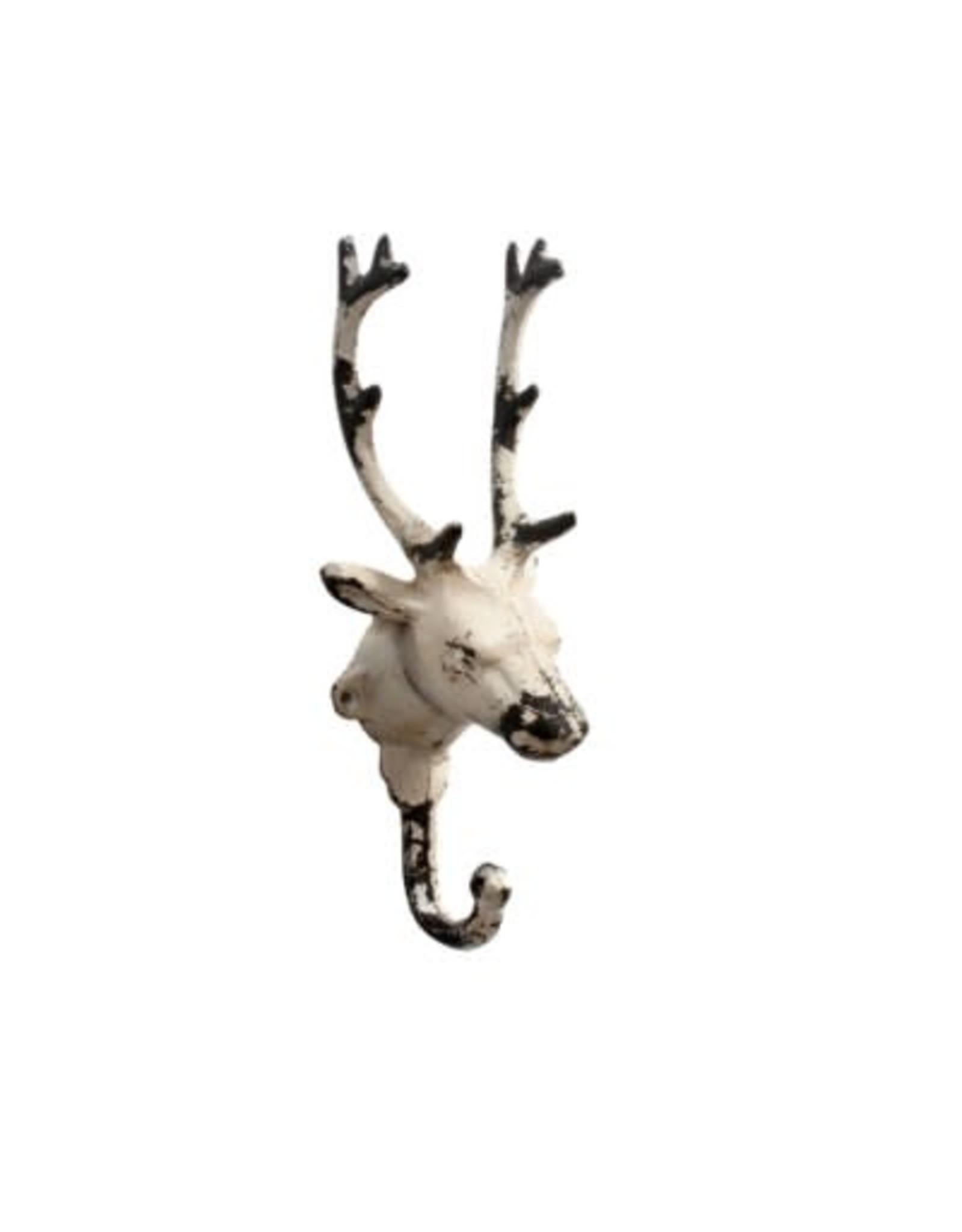 Crochet renne blanc