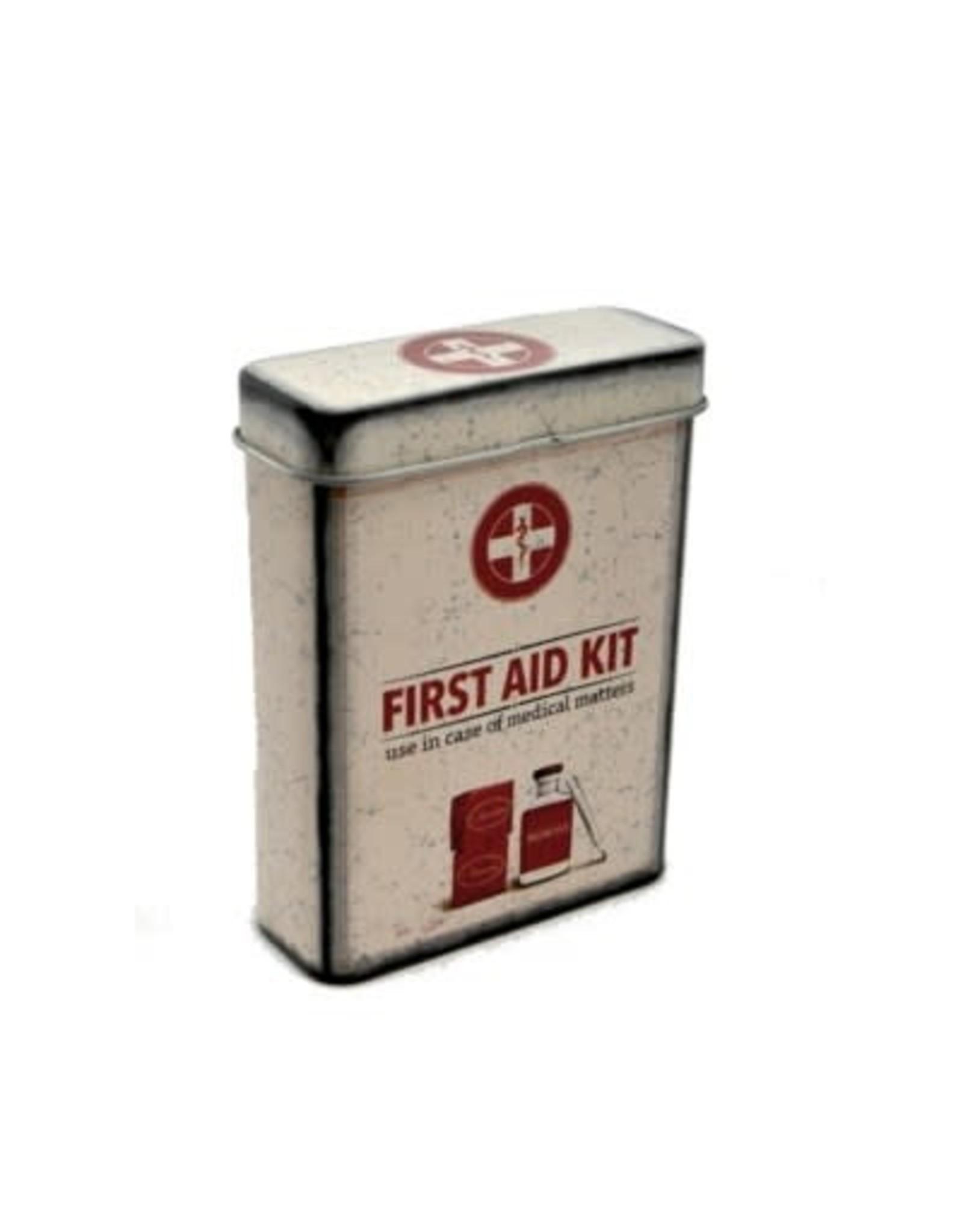 Mini boite de métal médicament
