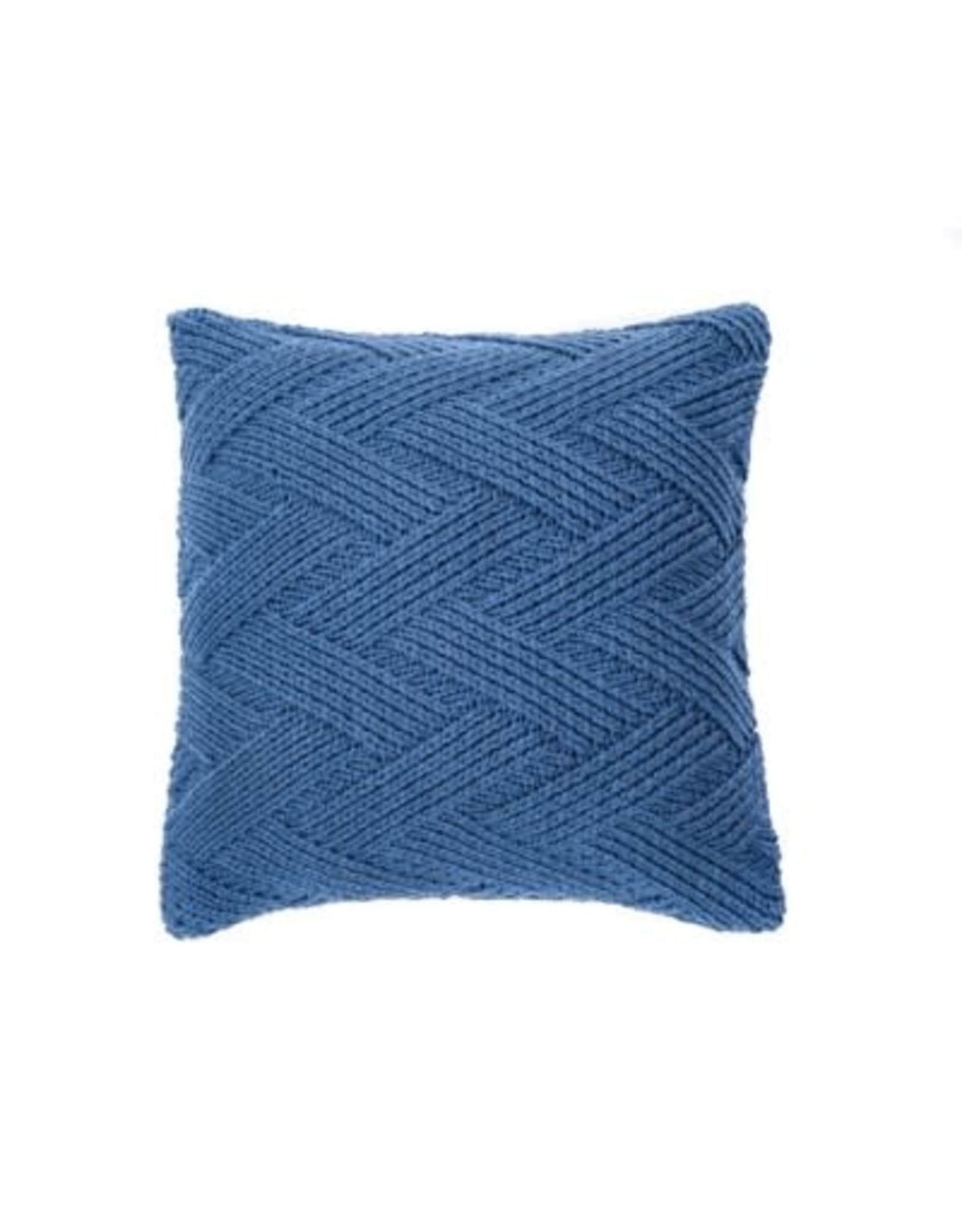 Coussin bleu - Zig Zag