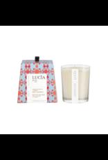 Lucia # 10: Bougie  - Rose de Damas et Cyprès