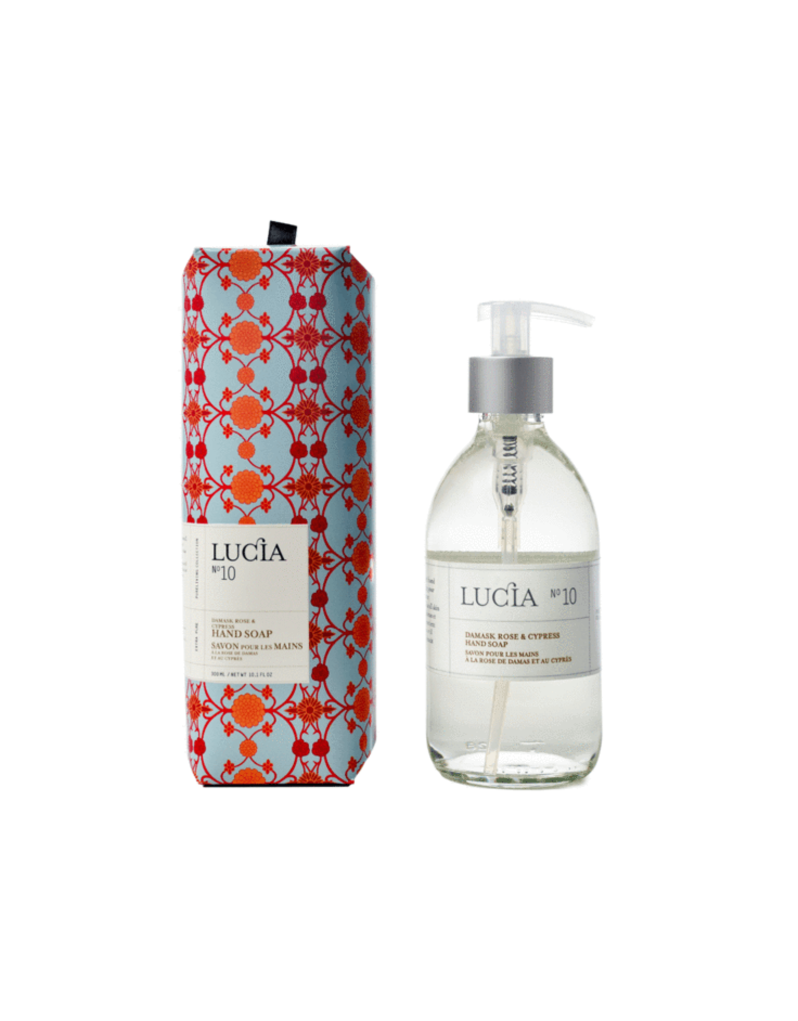 Lucia # 10: Savon pour les mains -  Rose de Damas et Cyprès