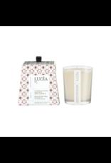 Lucia # 1: Bougie  - Lait de chèvre et huile de lin
