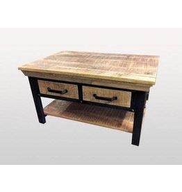 Table basse 4 tiroirs Lenox