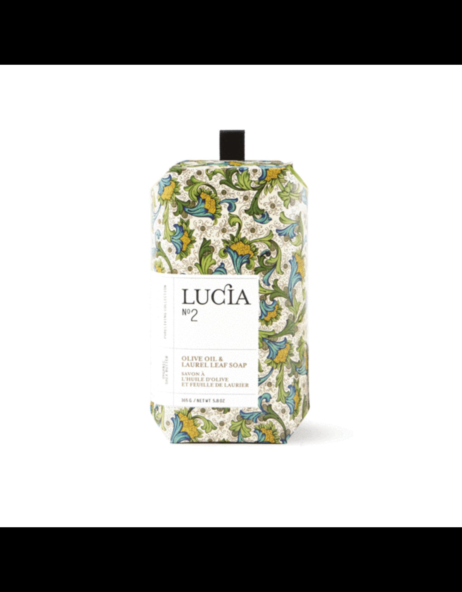Lucia # 2:  Savon à l'huile d'olive et feuille de laurier