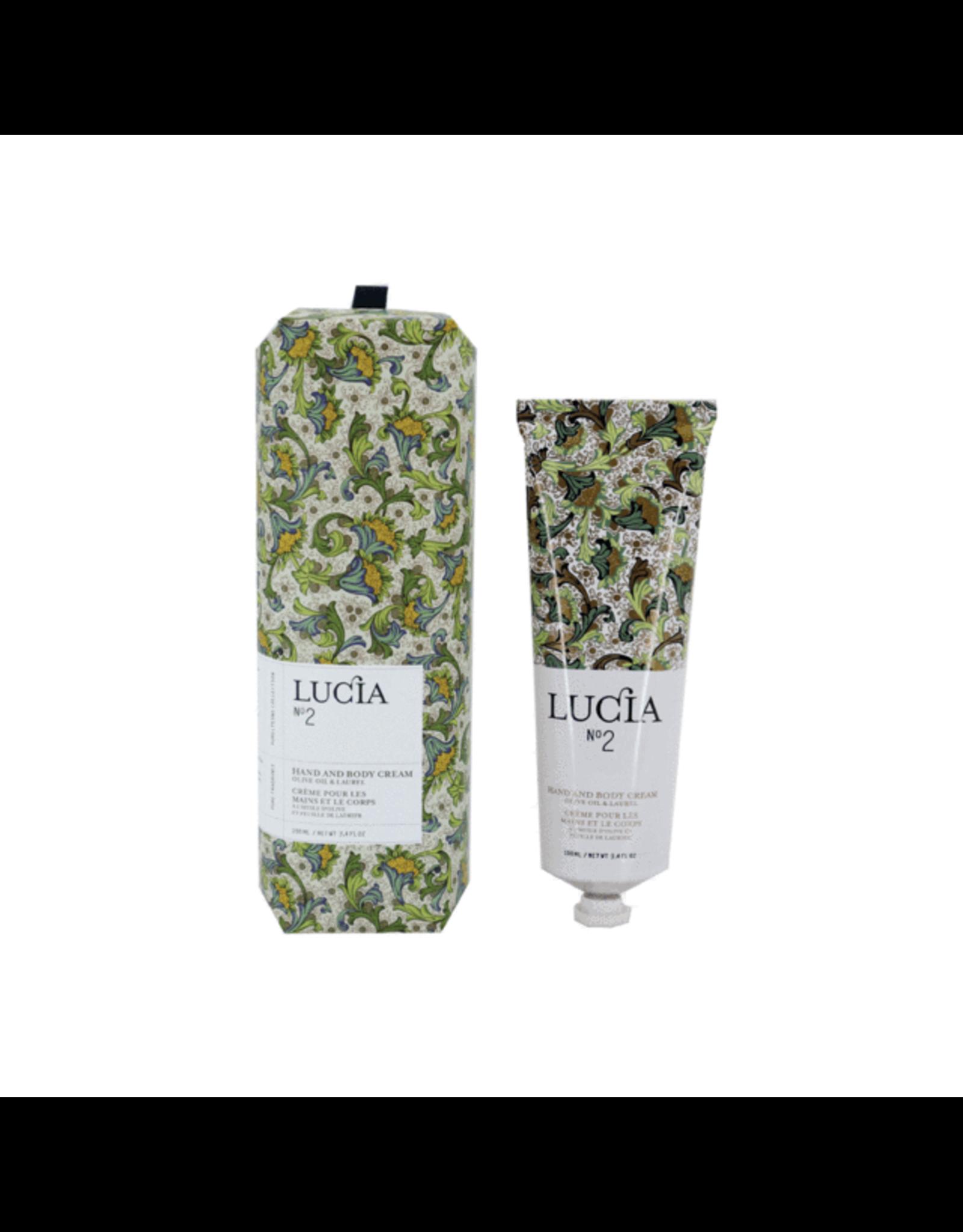 Lucia # 2: Crème pour les mains & corps à l'huile d'olive et feuille de laurier