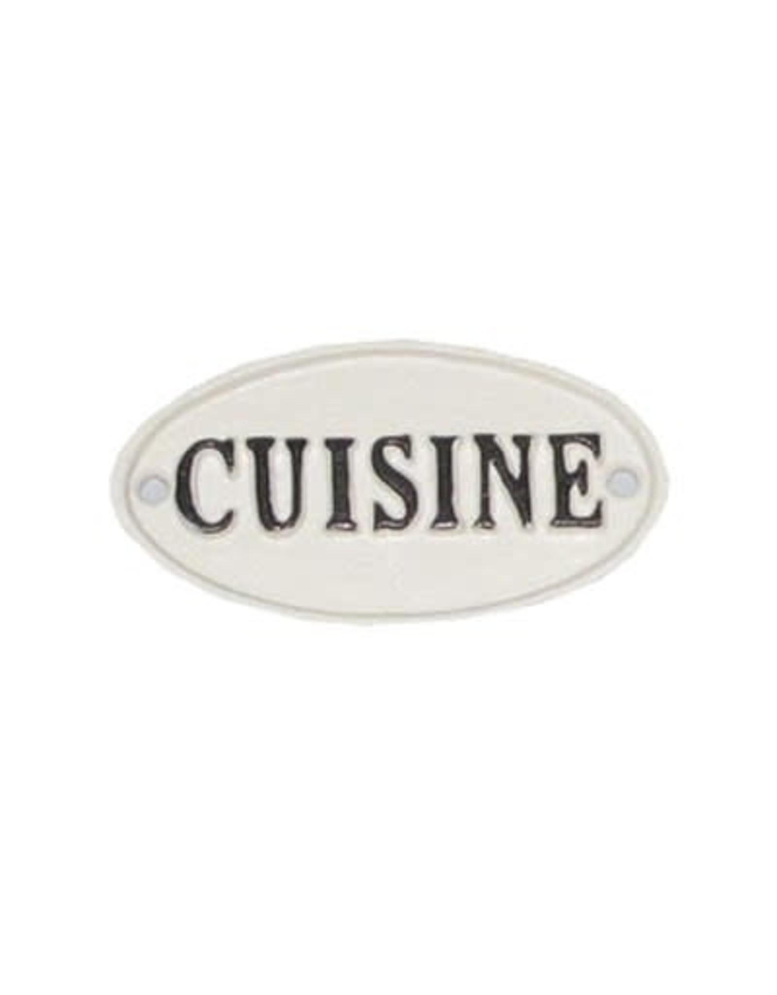 """Plaque """"Cuisine"""""""