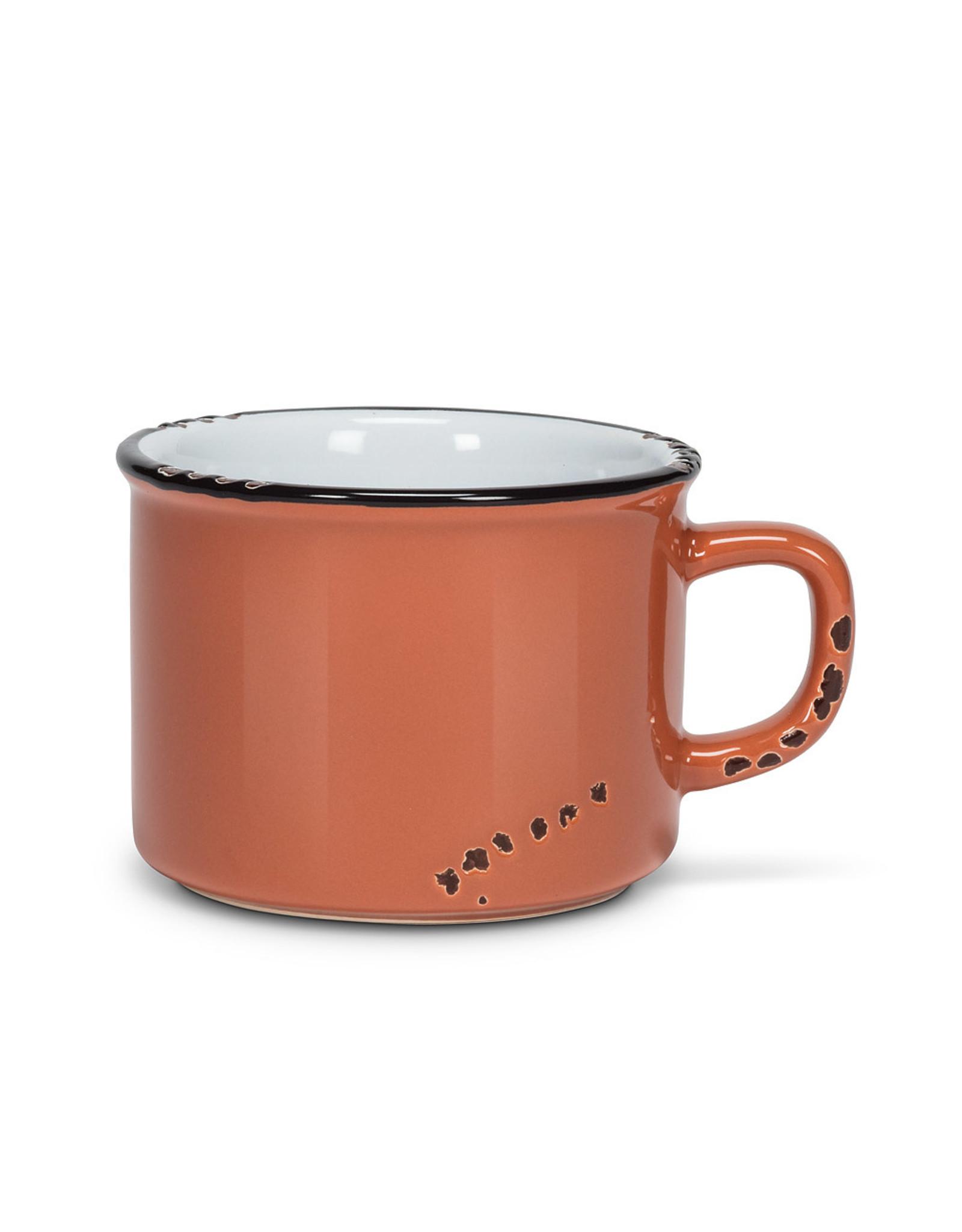 Tasse cappuccino terra en grès (8oz)