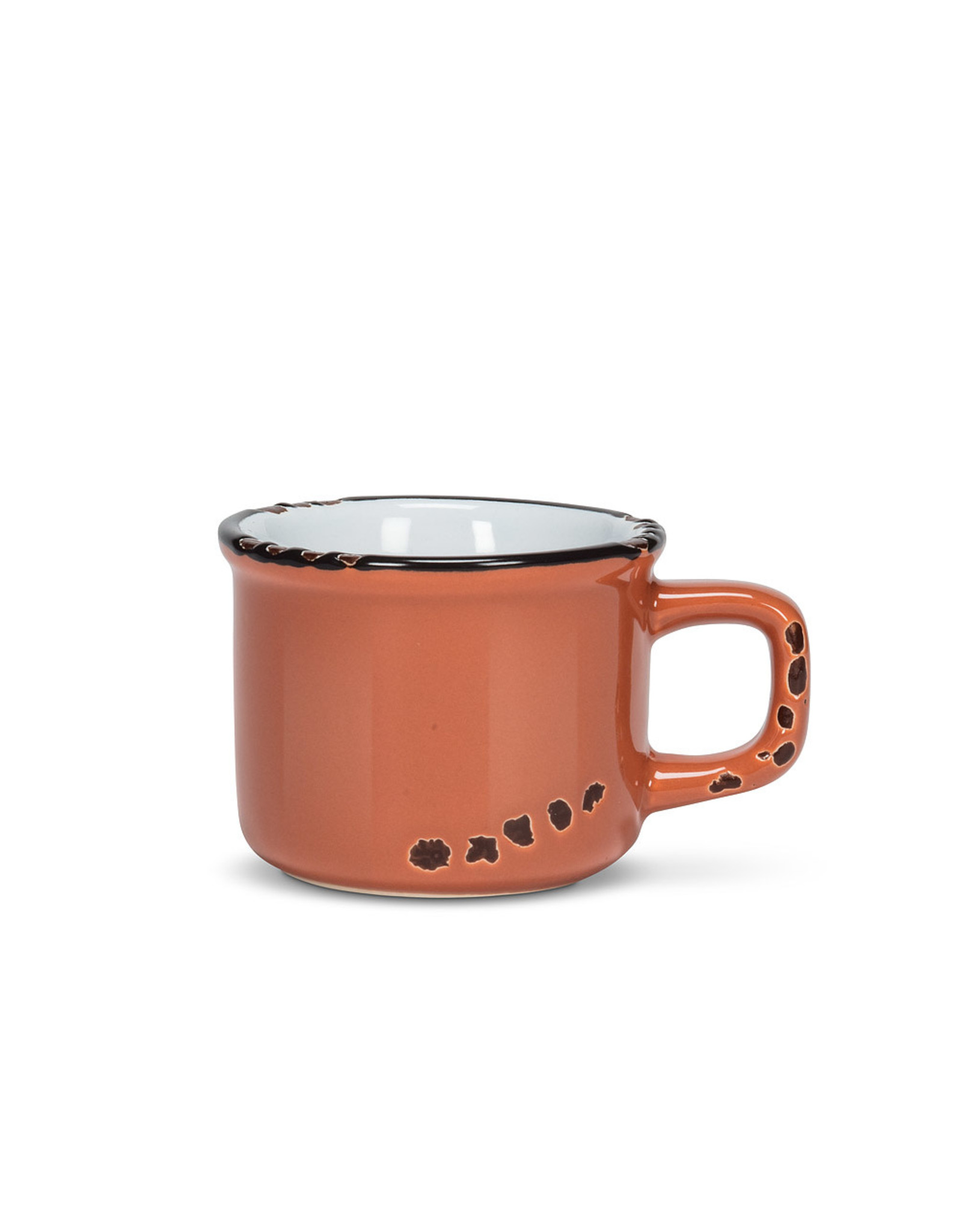 Tasse espresso terra en grès (3oz)