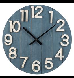 """Horloge bleue   23.5""""D"""