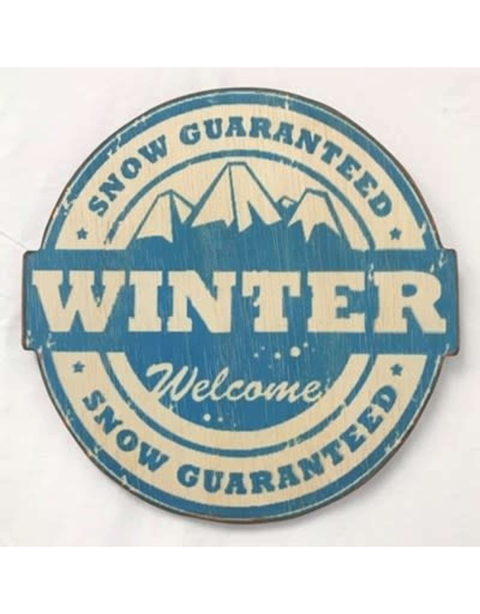 Affiche - Winter welcome