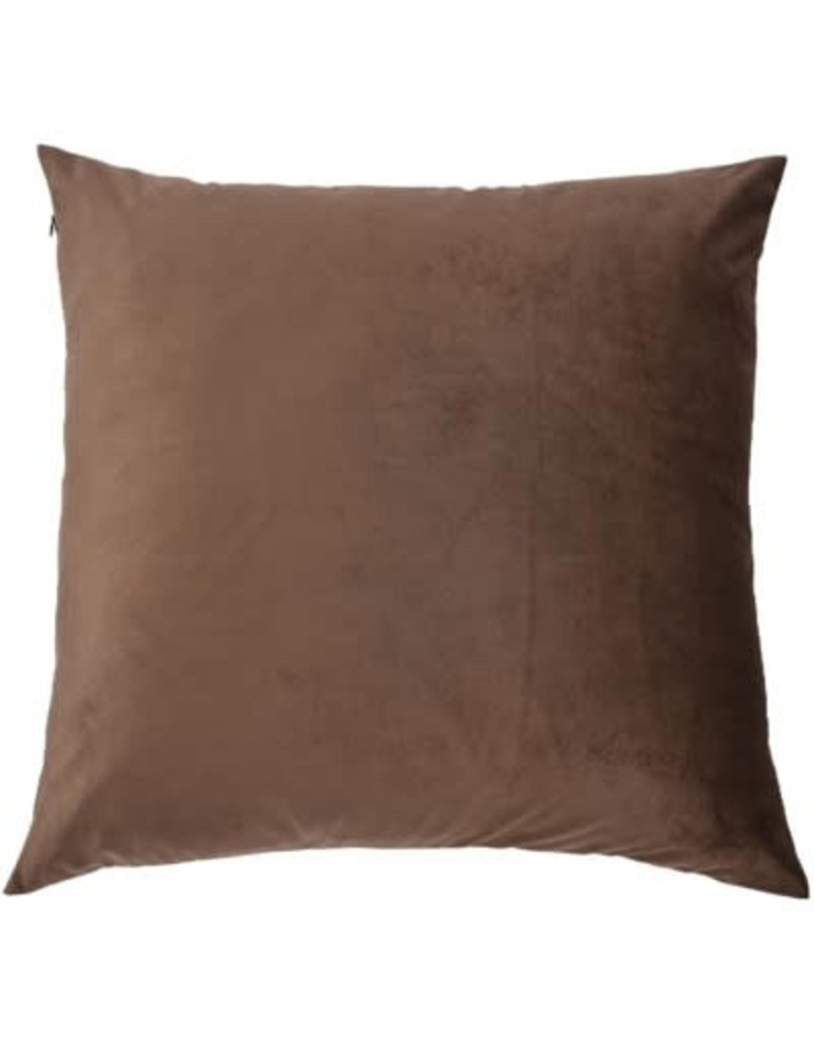 Coussin  brun Maryann
