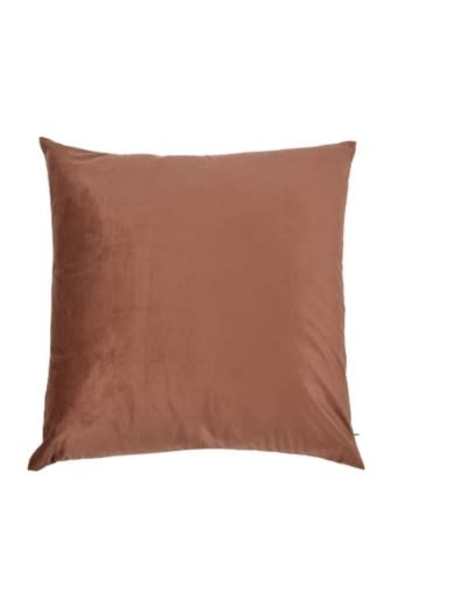 Coussin brun foncé Claudia 20x20