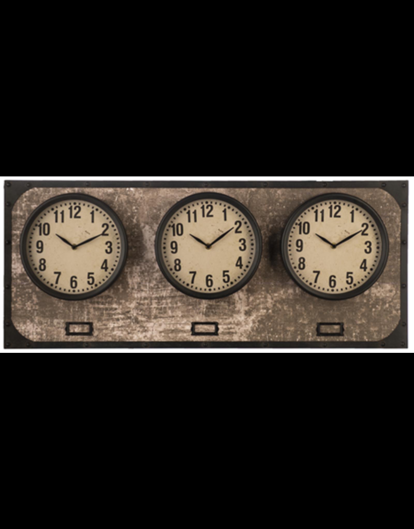 Horloge fuseaux horaires