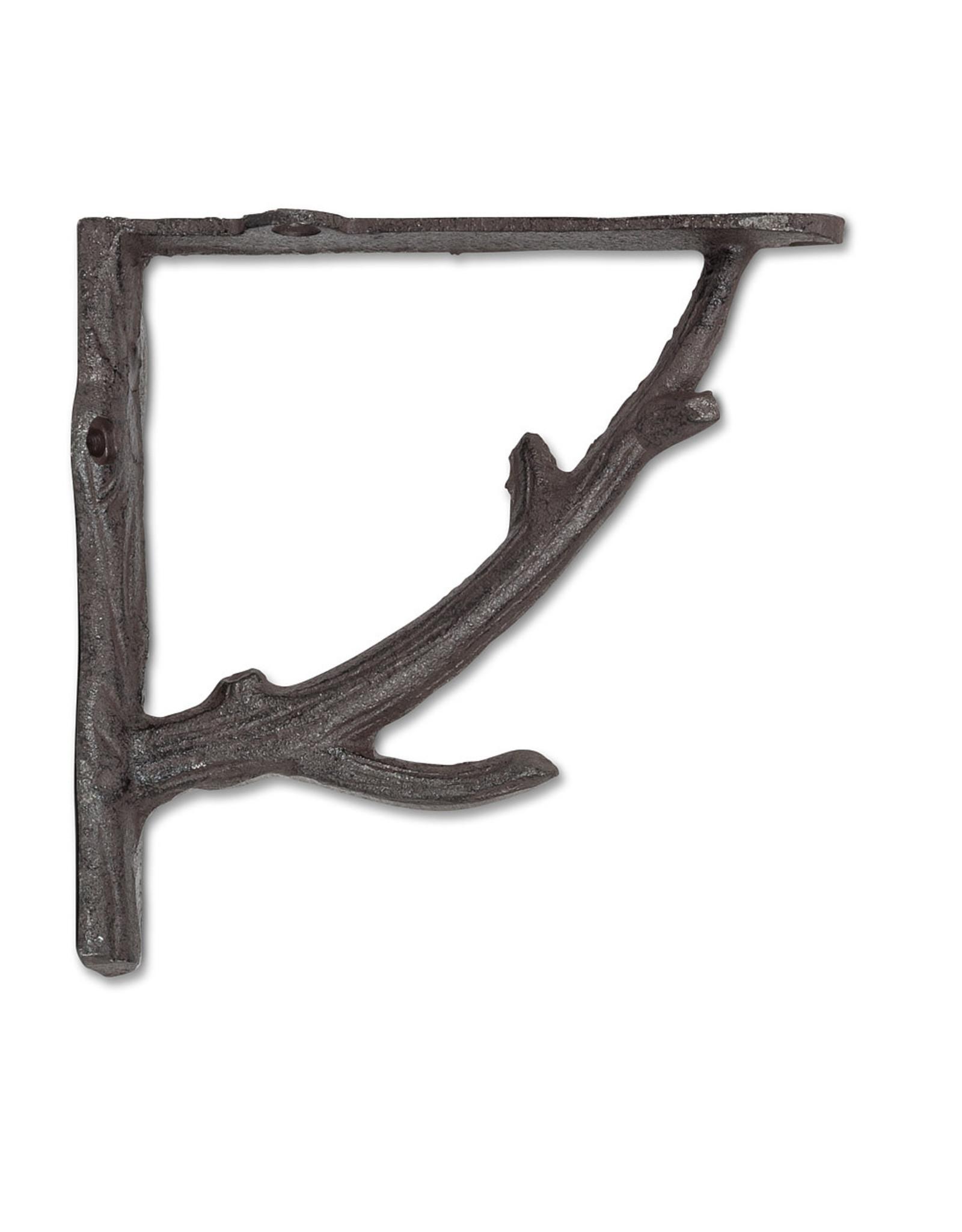 "Support à tablette ""branche"" brun"