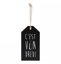 Étiquette à vin - C'est Vindredi