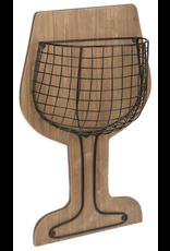 Support à bouchons de vin
