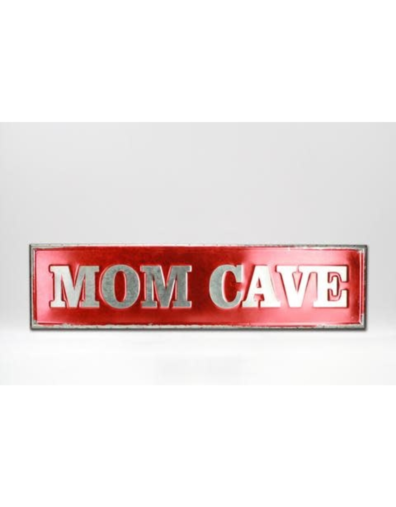"""Affiche """"Mom cave""""  32"""" x 8"""""""