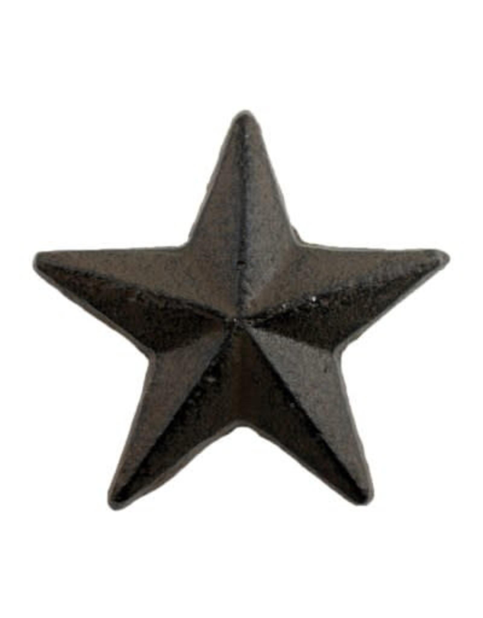 Poignée étoile de mer brune
