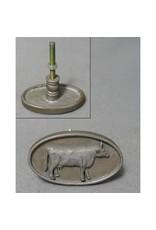 Poignée ovale vache