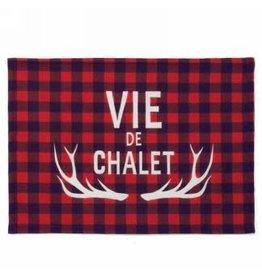 Napperon Vie de Chalet