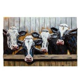 Cadre Troupeau de vaches